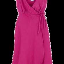 Vestido rosa glassé