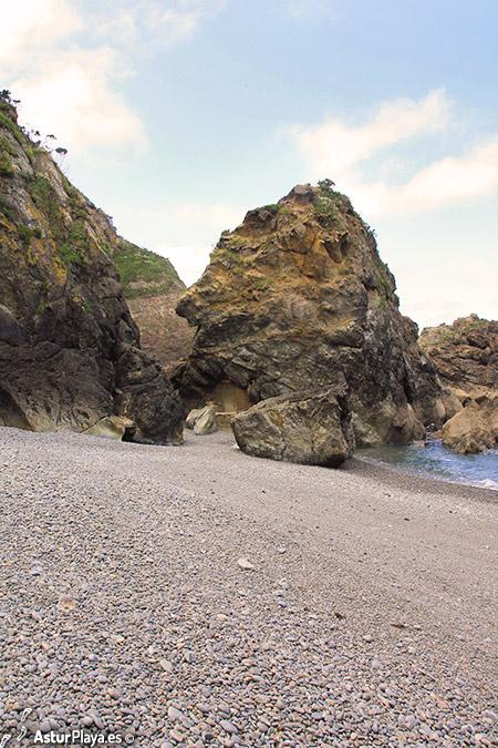 Puertochico Beach Cudillero Asturias Western Side