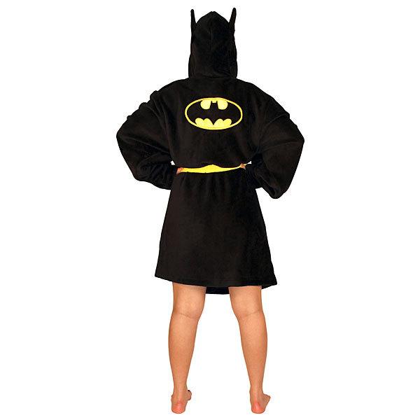 F0cf Batman Hooded Bathrobe Back
