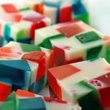 Postres de gelatina