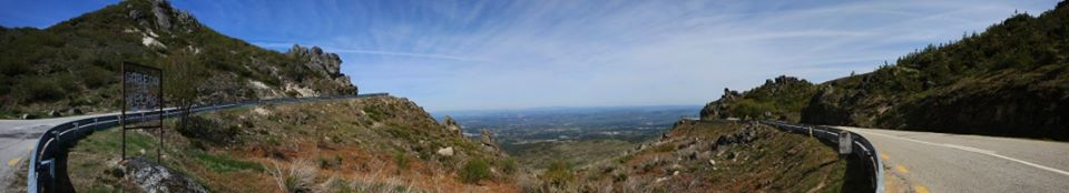 Panoramic with Old man's face,high at 1200 m