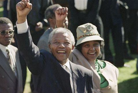 Nelson Mandela Esposa Winnie Milima20131205 0447 8