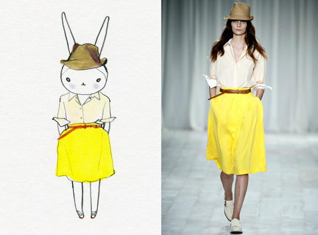 Fifilapin Rabbit Illustrations  3