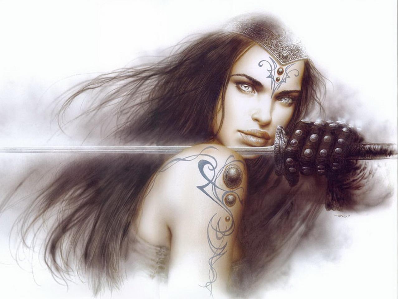 Royo Wallpaper Fantasy Art 13944083 1278 960