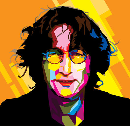 Lennon Pop Art 1200