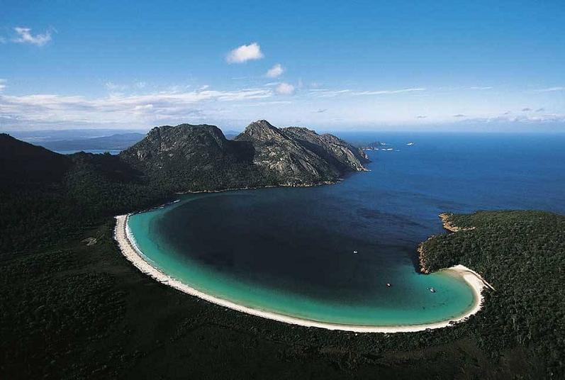 Tasmania Australia Aerial Yann Arthus Bertrand