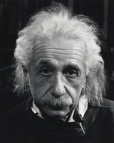 Albert Einstein By Philippe Halsman 1947