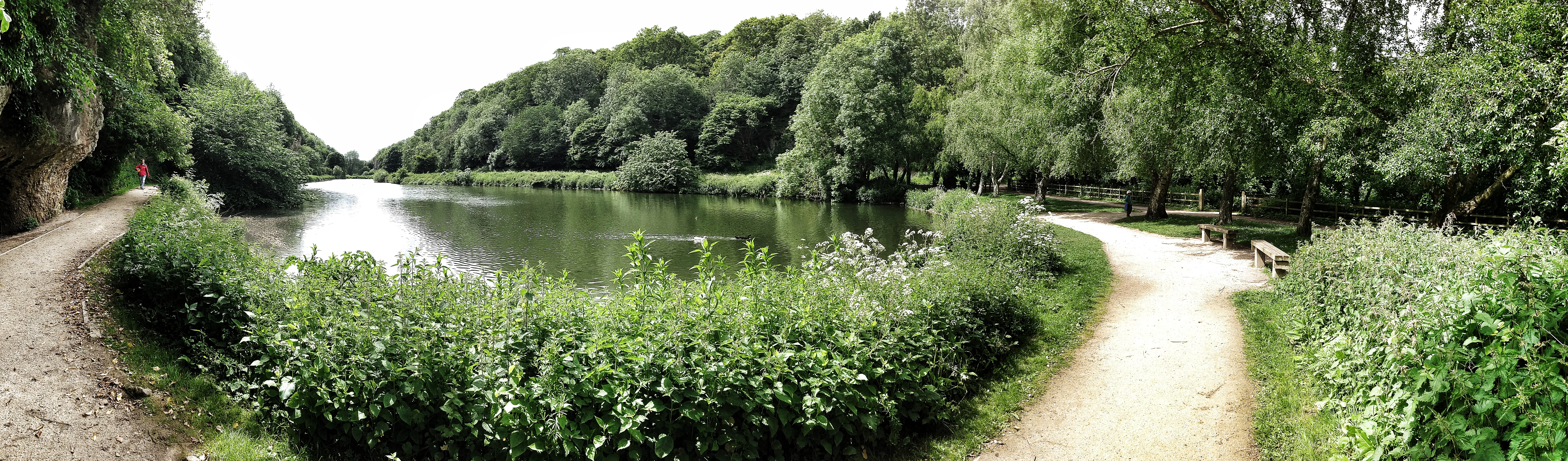 Lake At Creswell Crags Nottingham3 Q