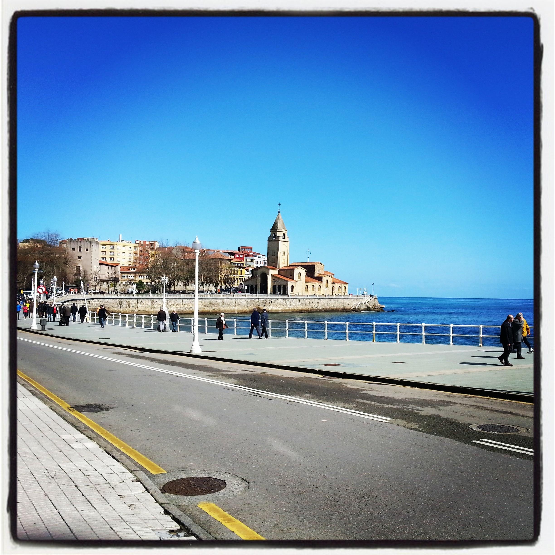 Playa de San Lorenzo #Gijón