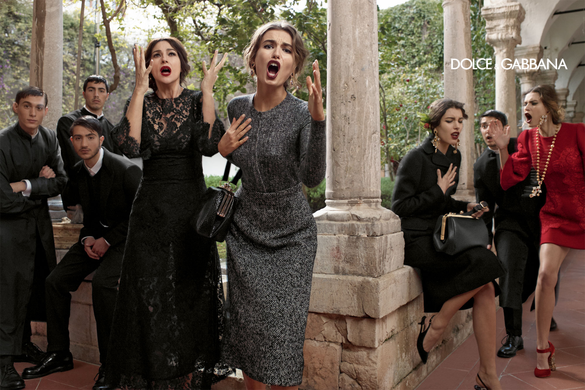 Dolce And Gabbana Fw 2014 Women Adv Campaign 3