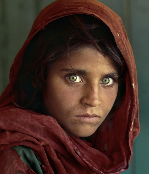 1. Sharbat Gula, la niña del National Geographic
