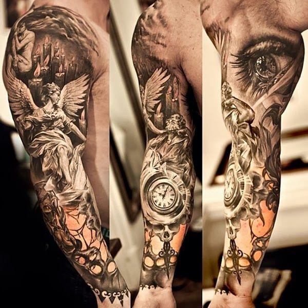 Tatuajes De Brazo Completo Beqbe