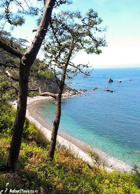 El Barco Beach Western Side Asturias