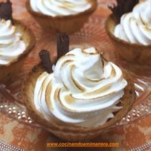 Pastelitos en Tartaletas de Galletas