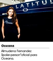 Almudena Fernandez SAVE THE OCEAN