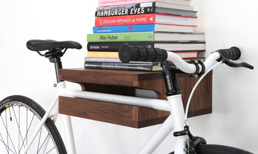 Estanteria Bici Y Libros