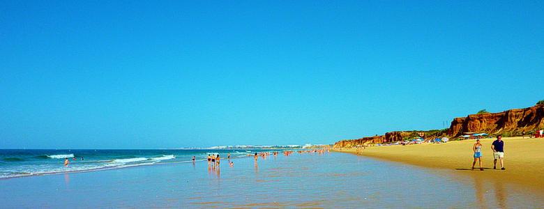 Beach Falesia Albufeira Algarve 780x300