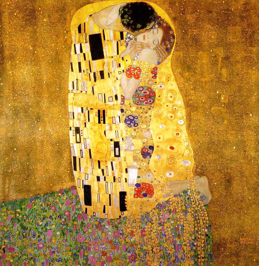 The Kiss Gustav Klimt Wikipaintings