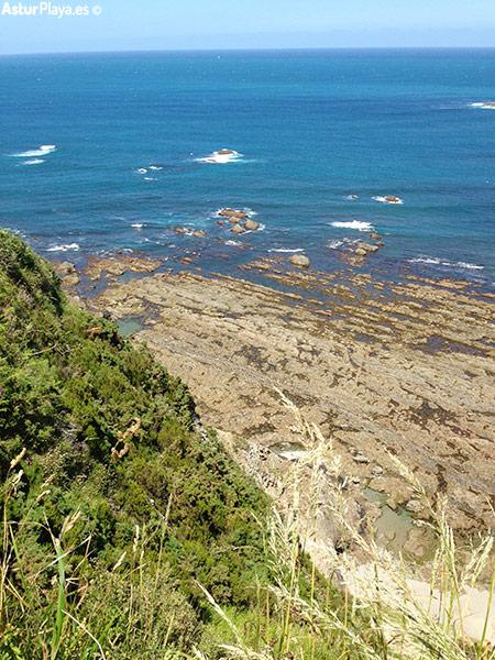 Los Negros Campizales Beach Cudillero Asturias Western Side