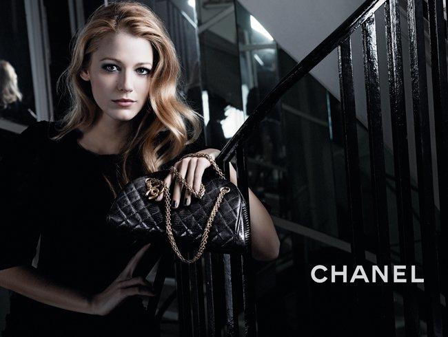 Blake Lively Chanel Bolso 6