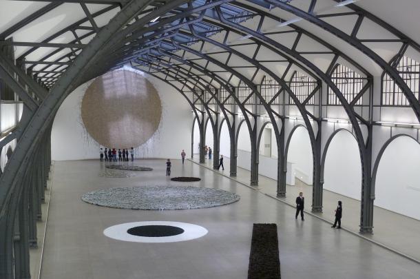 "Richard Long ""Berlin Circle"" im Hamburger"