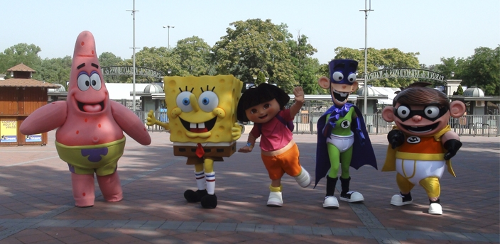 ¡Ven a conocer Nickelodeon Land!