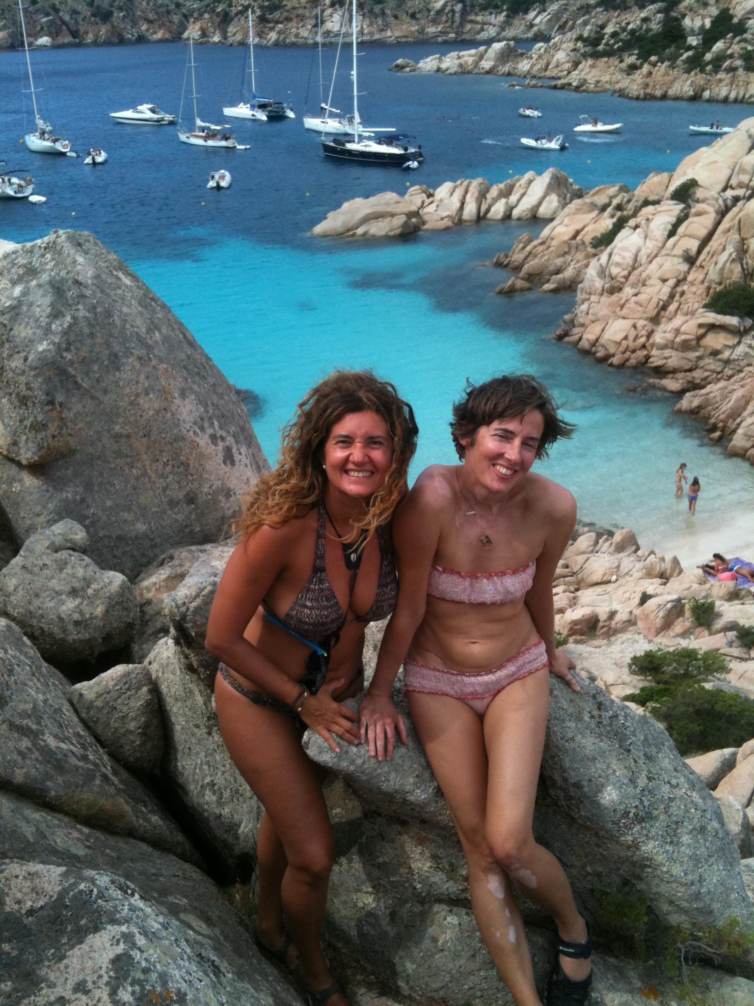 Con Julie En Cala Conticcio Copia