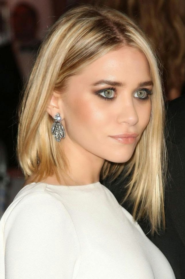Corte Asimetrico Ashley Olsen