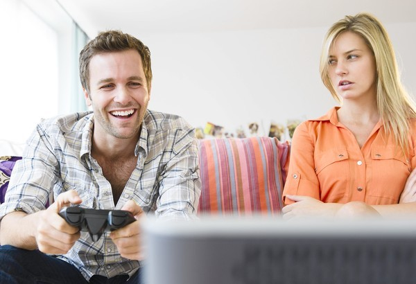 Videogame Couple