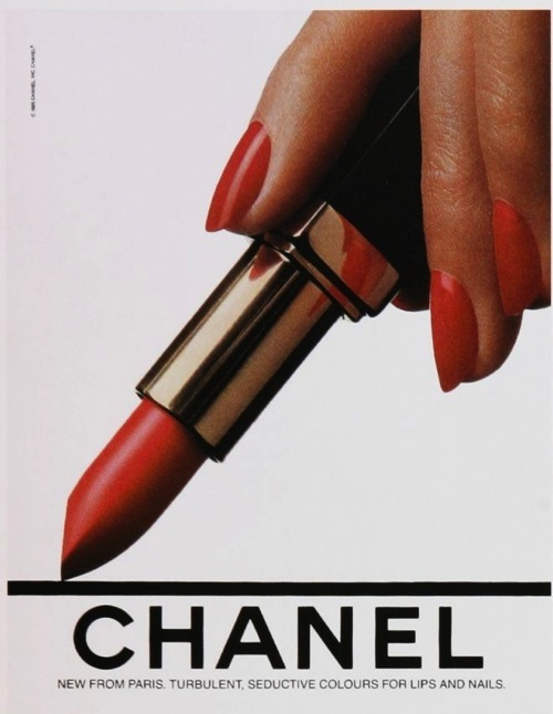 1980fashionadvertising 1980s Chanel1