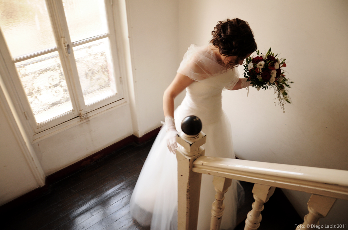 ... Y la novia sale