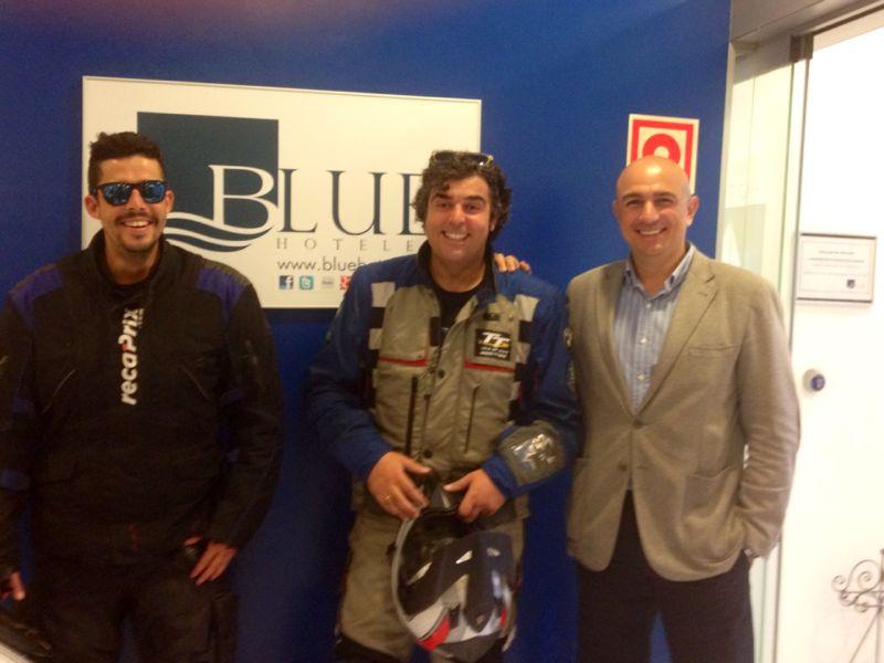 #elbufalo, Fernando Rodriguez y Gerardo Alvarez en Blue