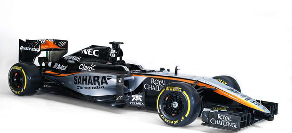 Pay Sahara Force India