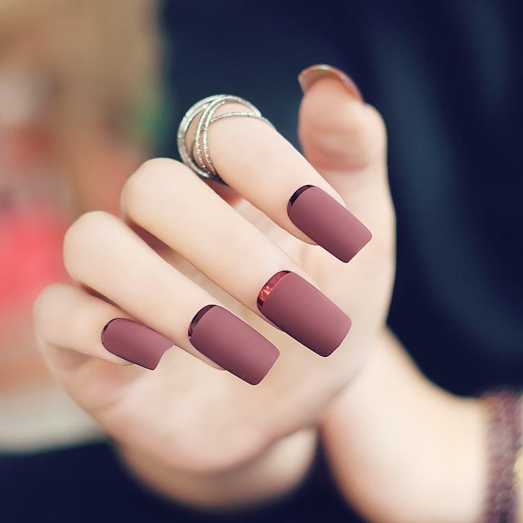 Como hacer uñas mate - beQbe