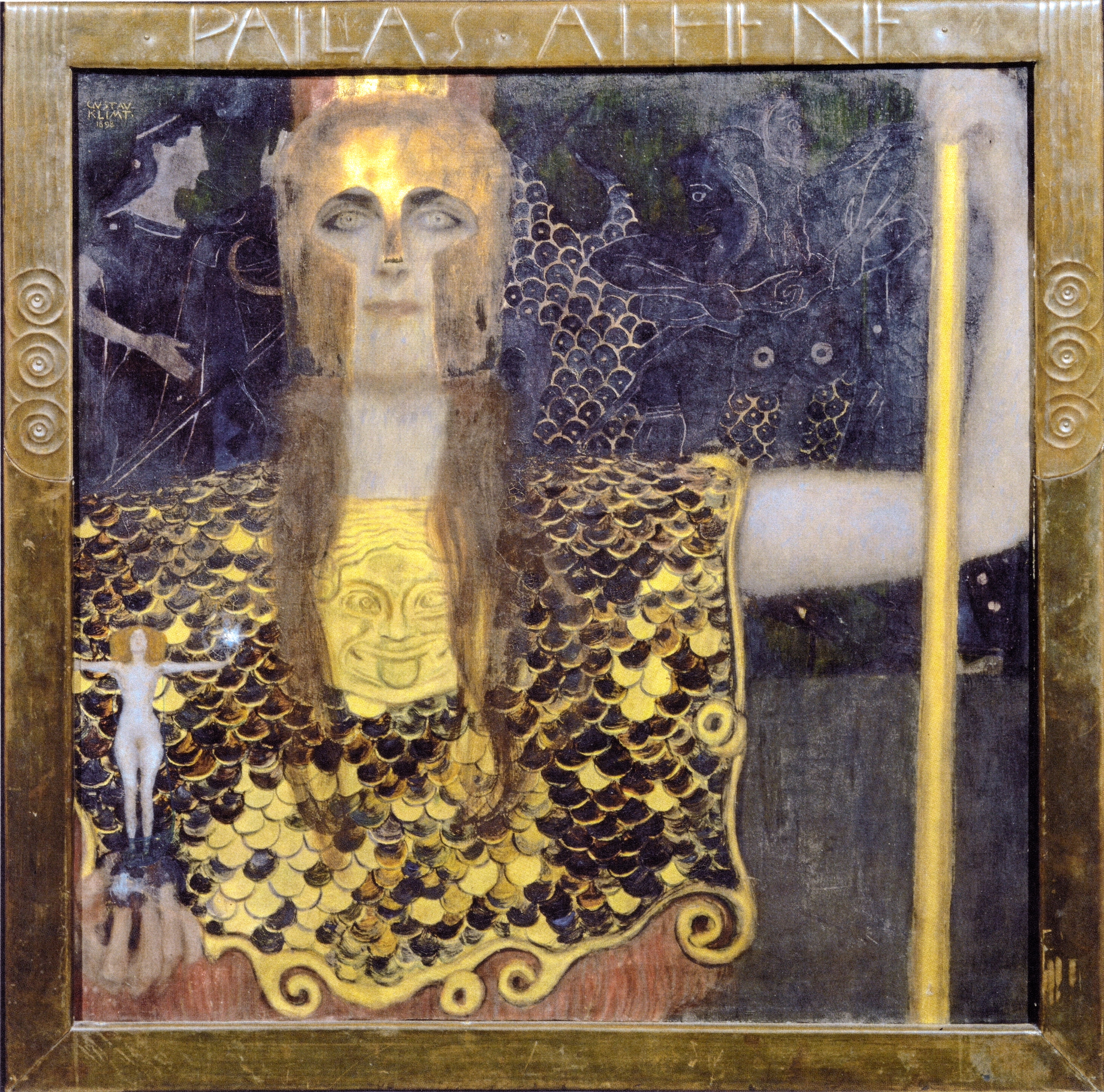 Klimt Pallas Athene