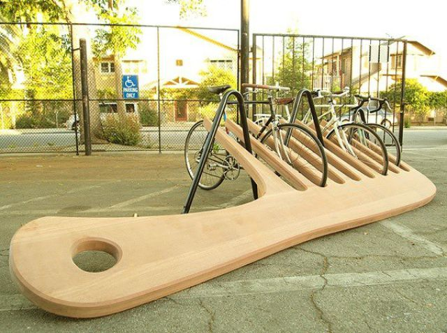 Originales Estacionamientos Para Bicicletas 22