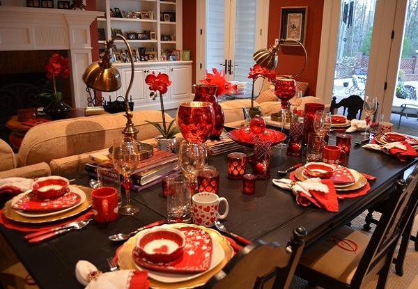 Christmas Party Table Decoration Ideas