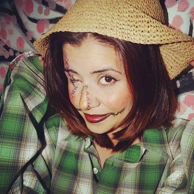 Chao Halloween 2016 Gizehmoonight Makeup And Photography Halloween Scarecrow Eyepatchlife Happyhalloween Halloweenmakeup Lol Crow Gamer Maquillaje Eyepatchlyf