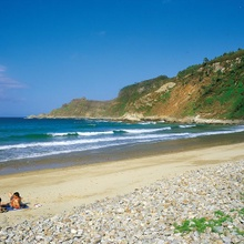 San Pedro Beach in Cudillero - Asturias