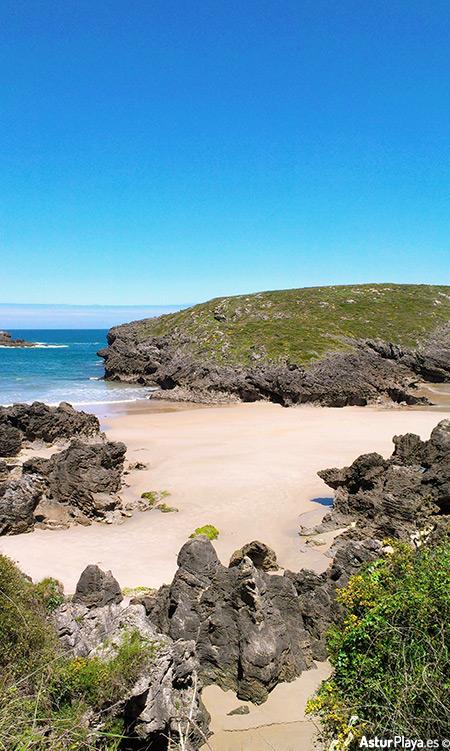 Sorraos Beach In Llanes Asturias