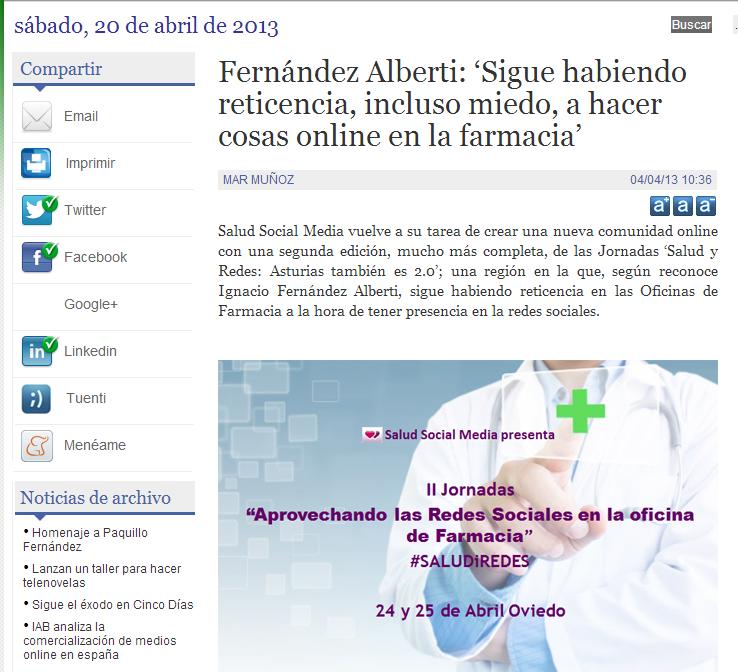 Fernandez Alberti Sigue Habiendo Reticencia Incluso Miedo A Hacer Cosas Online En La Farmacia