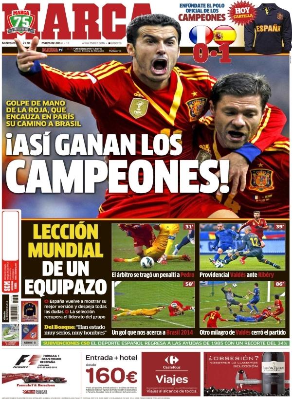 Francia Espana 2013 Jpg