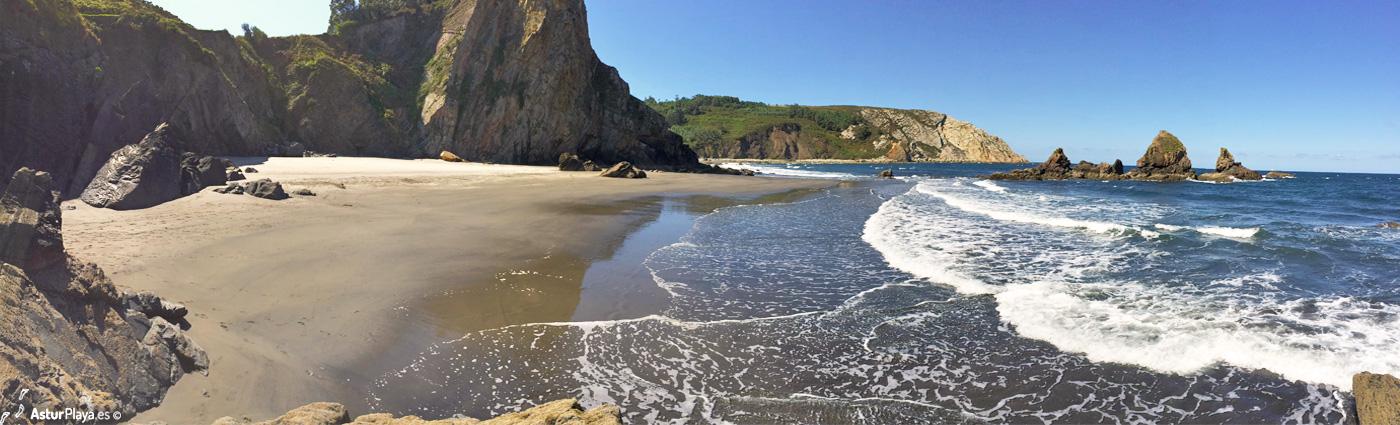 Reguero Cordial Beach Asturias Mainpic