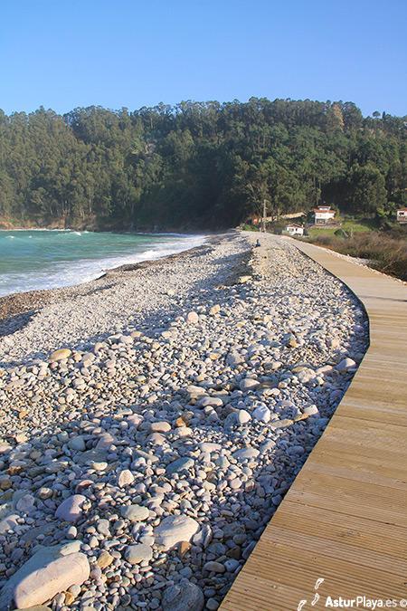 Concha De Artedo Platform On The Beach