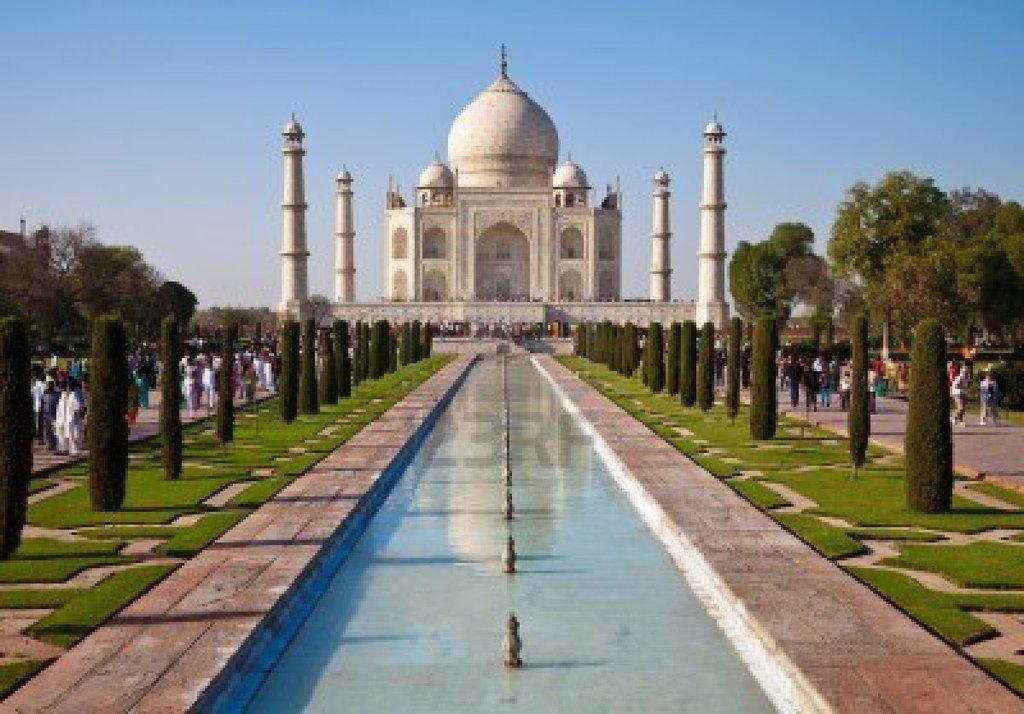 12629039 Hermoso Monumento Taj Mahal En Agra India