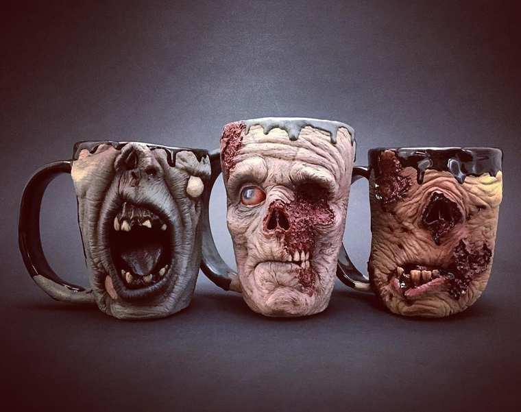 Kevin Turkey Merck Horror Mugs 7