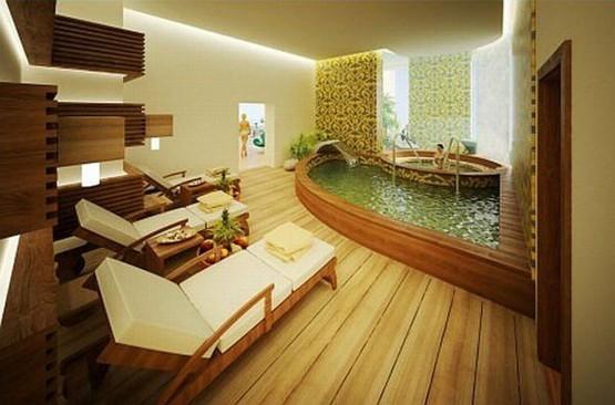 Amazing Bathroom Like Spa 555x366