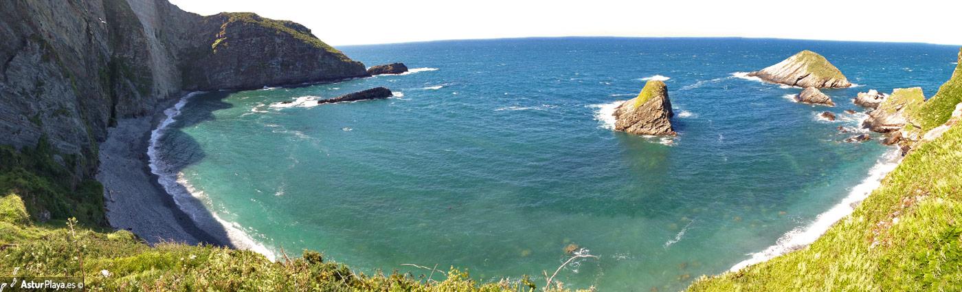 San Cidiello Beach Cudillero Asturias Mainpic