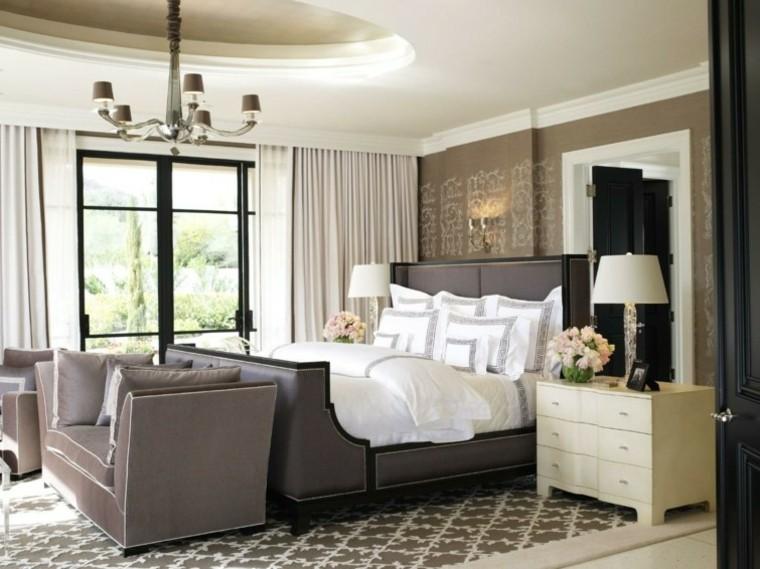 Habitaciones Vintage Dormitorio Elegante