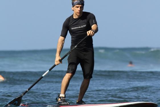 Ben Stiller durante sus vacaciones en Hawaii